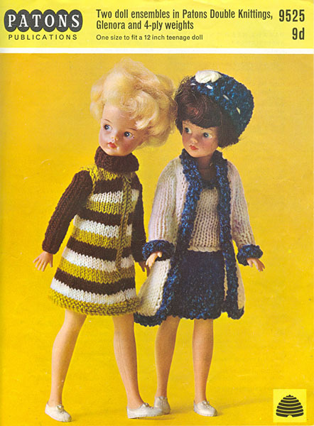 Free Knitting Patterns For Action Man Dolls : Patons - Sindy Knitting Patterns