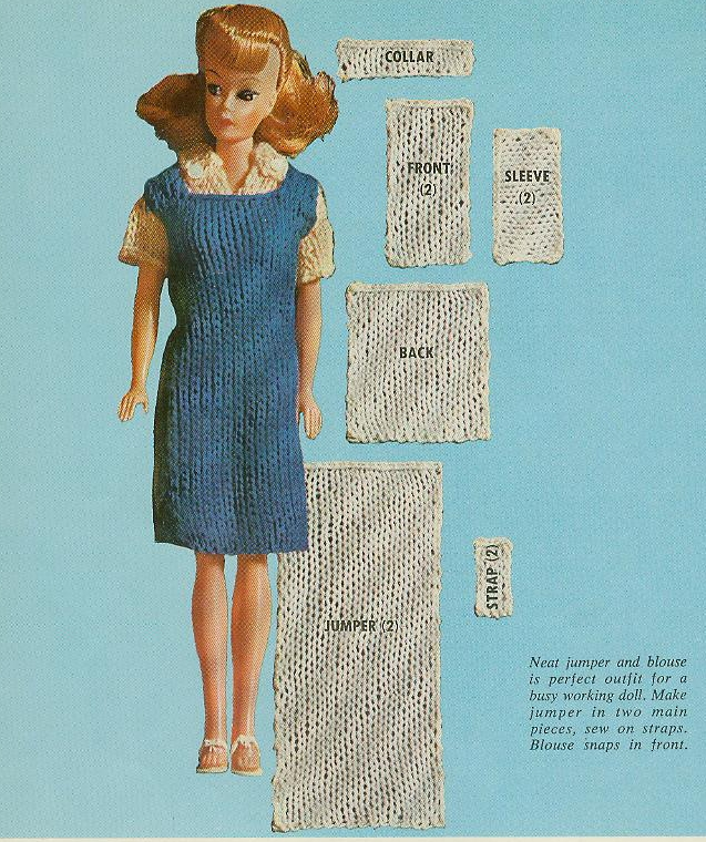 Barbie Patterns - Sindy Knitting Patterns